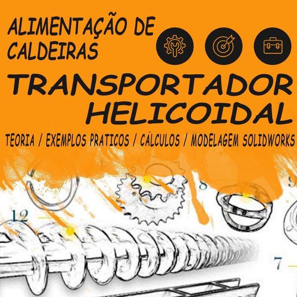 Imagem principal do produto ALIMENTAÇÃO DE CALDEIRAS - TRANSPORTADOR HELICOIDAL