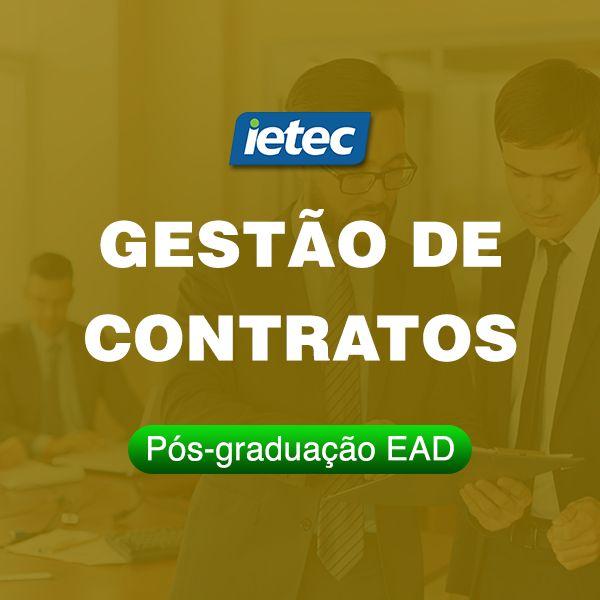 Imagem principal do produto Gestão de Contratos - Pós-Graduação Aperfeiçoamento Online