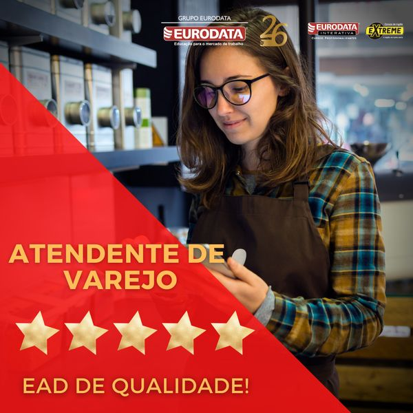 Imagem principal do produto FORMAÇÃO PARA ATENDENTE DE VAREJO