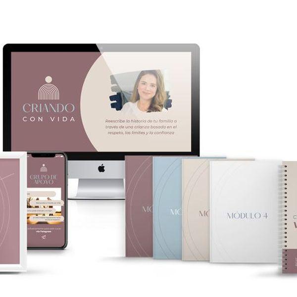 Imagem principal do produto Curso Online: Criando con Vida