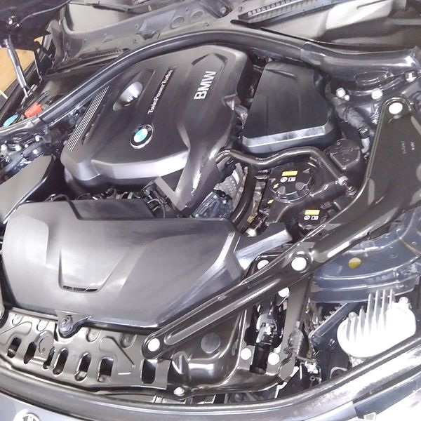 Imagem principal do produto Lavagem técnica e proteção de motor em 4 etapas