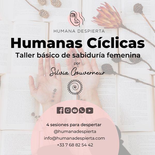 Imagem principal do produto Humanas Cíclicas: taller básico de sabiduría femenina