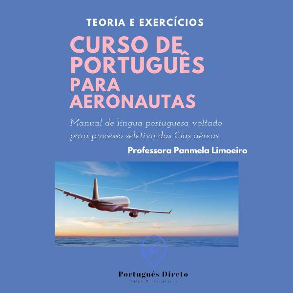Imagem principal do produto Curso Português Para Aeronautas
