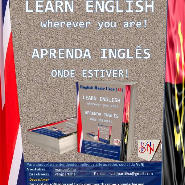 Imagem principal do produto LEARN ENGLISH WHEREVER YOU ARE - APRENDA INGLÊS ONDE ESTIVER