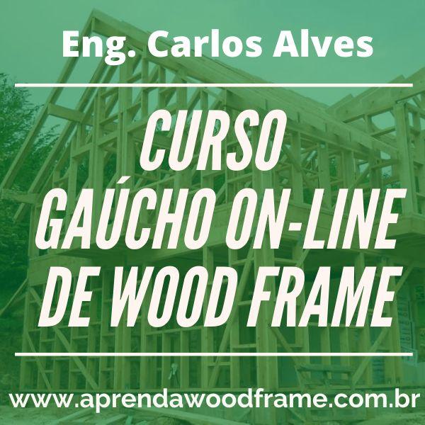 Imagem principal do produto Curso Gaúcho de wood frame