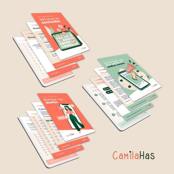Imagem principal do produto COMBO: Curso de Marketing Digital + Bombando nos Stories + 365 dias de Conteúdos