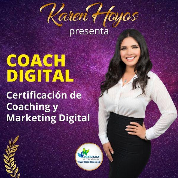 Imagem principal do produto Coach Digital - Certificación de Coaching y Marketing Digital