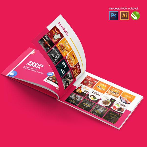 Imagem principal do produto Freela Pack - Proposta para Social Media