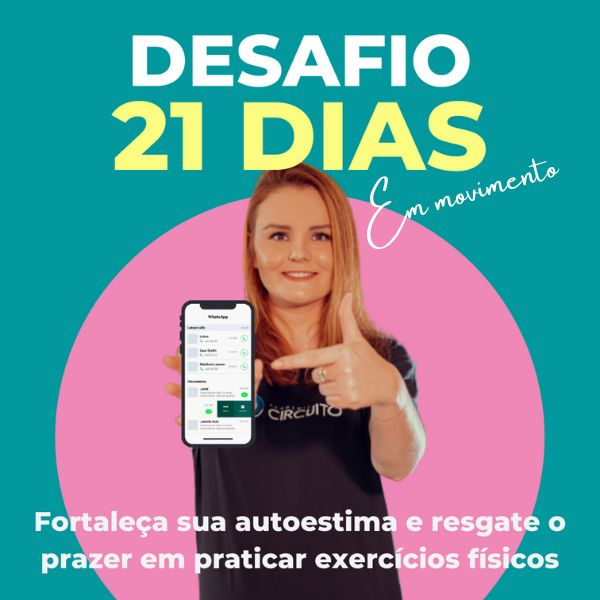 Imagem principal do produto DESAFIO 21 DIAS EM MOVIMENTO