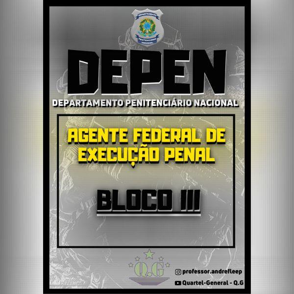 Imagem principal do produto APOSTILA PARA O CONCURSO DO DEPEN - BLOCO III EM + DE 500 QUESTÕES