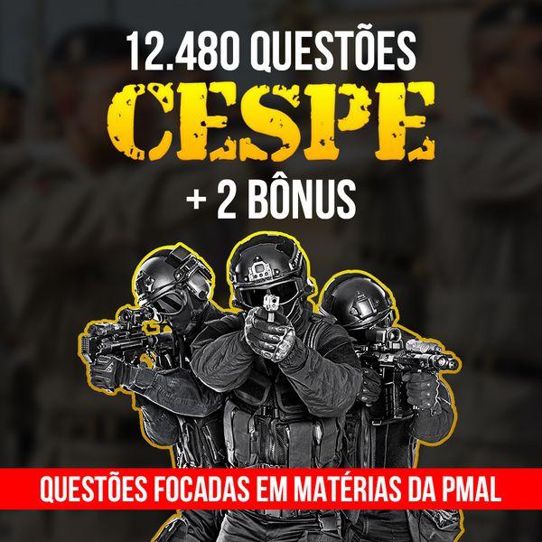 Imagem principal do produto COMBO QUESTÕES & SIMULADOS PMAL 2021