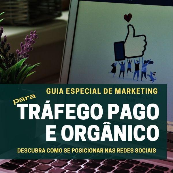 Imagem principal do produto GUIA 2021 ESPECIAL do Marketing de Tráfego Pago e Orgânico para Redes Sociais