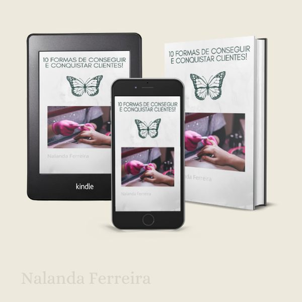 Imagem principal do produto 10 FORMAS DE CONSEGUIR E CONQUISTAR CLIENTES!