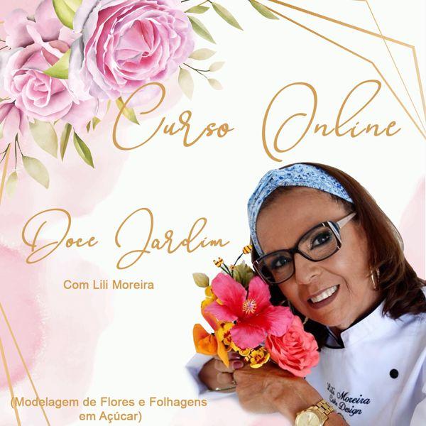 Imagem principal do produto Doce Jardim, flores em açúcar