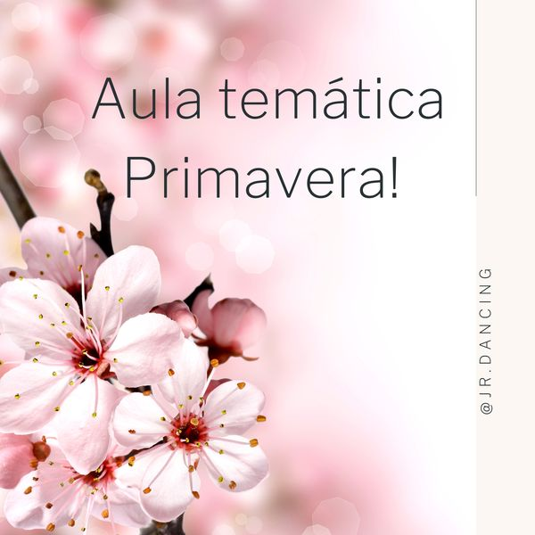 Imagem principal do produto Aula Temática- Primavera