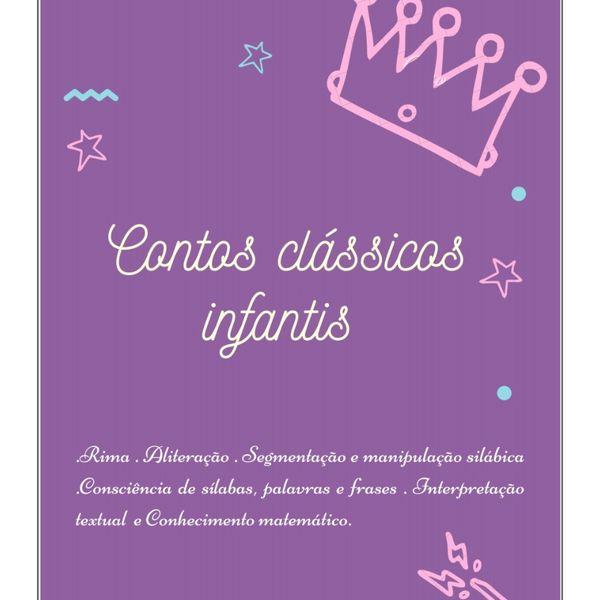 Imagem principal do produto Caderno de atividades Contos Clássicos Infantis