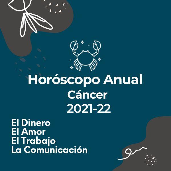 Imagem principal do produto Horóscopo Anual Cáncer: Período 2021-2022