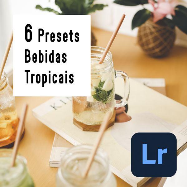 Imagem principal do produto 6 Lightroom Preset Bebidas Tropicais - PC & Mobile