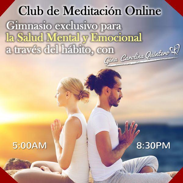 Imagem principal do produto Club de Meditación Online Leones del Amanecer