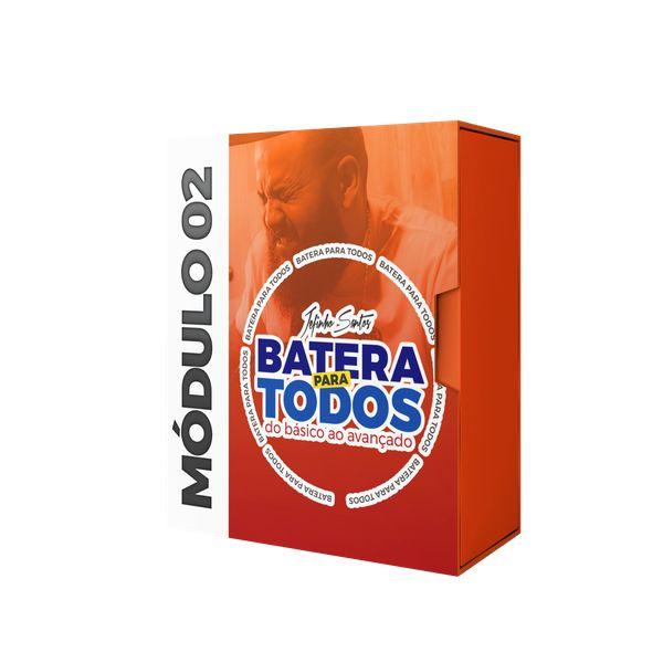 Imagem principal do produto BATERIA PARA TODOS - MÓDULO 02
