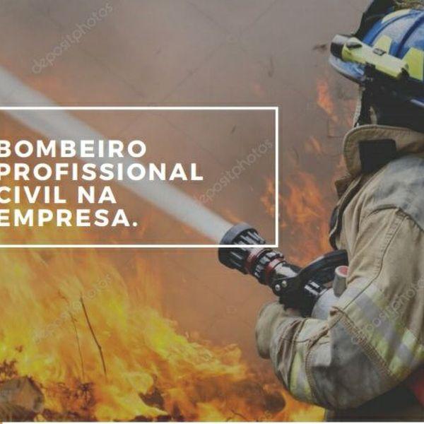 Imagem principal do produto Bombeiro profissional civil nas empresas