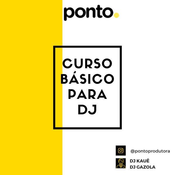 Imagem principal do produto Ebook para DJ`S - Apostila Ponto Produtora - Curso Básico para DJS