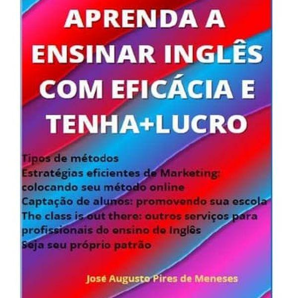 Imagem principal do produto APRENDA A ENSINAR INGLÊS E TENHA + LUCRO