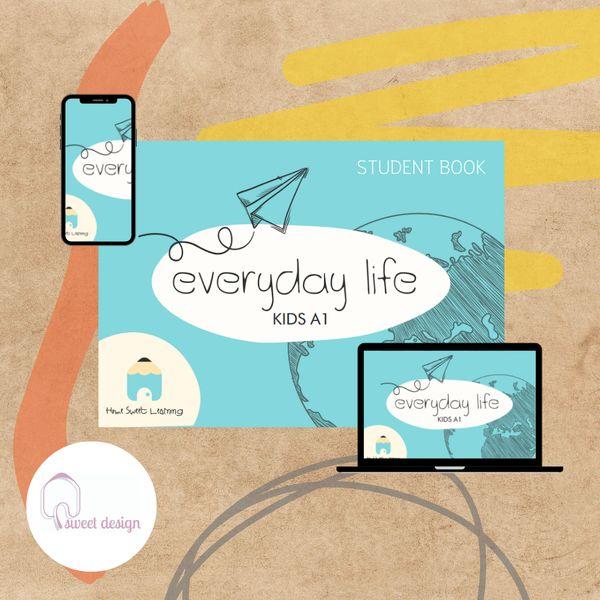 Imagem principal do produto HSL - Everyday life - Kids book