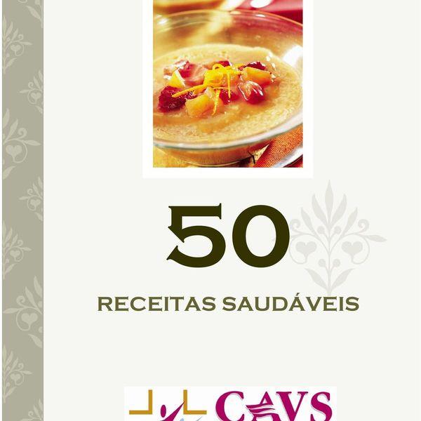 Imagem principal do produto 50 RECEITAS SAUDÁVEIS