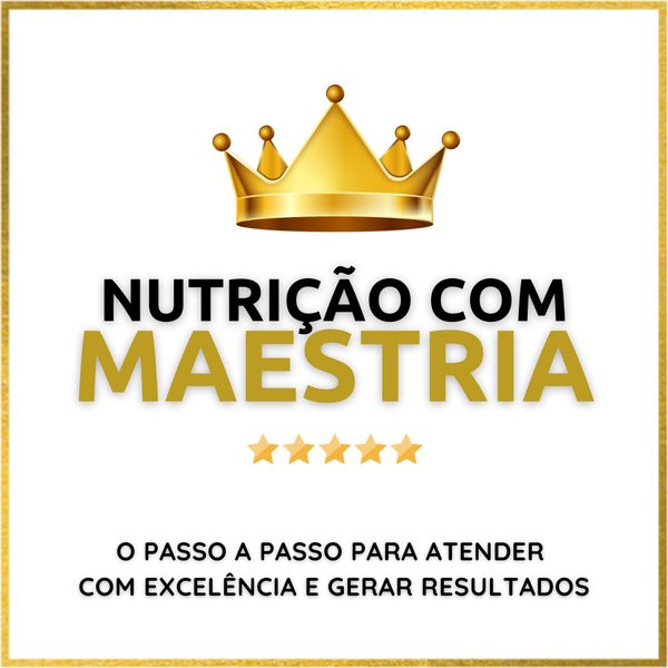 Imagem principal do produto Nutrição com Maestria