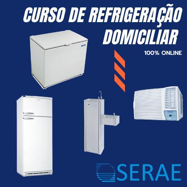 Imagem principal do produto Curso de Refrigeração Domiciliar (Online)