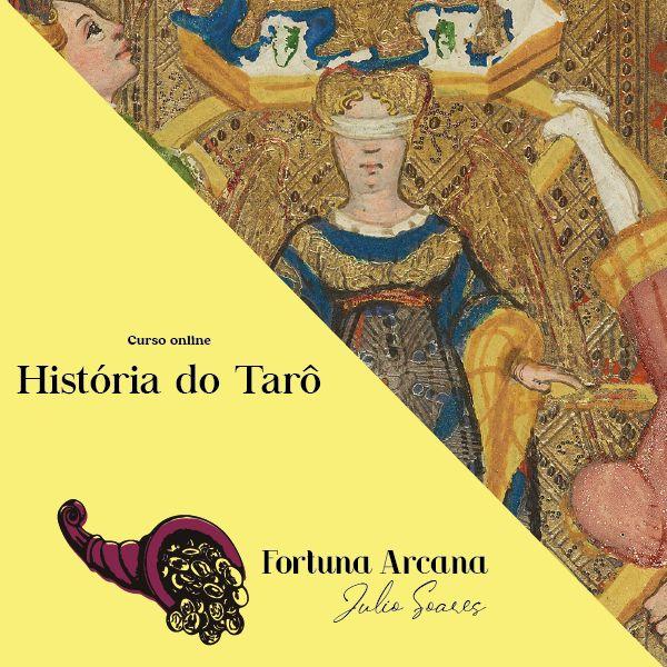 Imagem principal do produto CURSO ONLINE - HISTÓRIA DO TARÔ - MÓDULO 1
