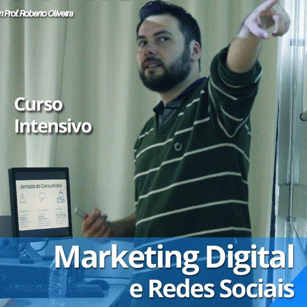 Imagem principal do produto Curso Estratégias de Marketing Digital e Redes Sociais (completo + 3 cursos Bônus)