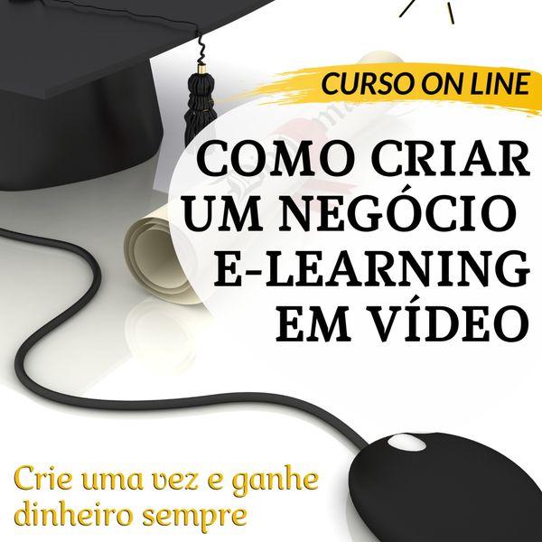 Imagem principal do produto COMO ABRIR UM NEGÓCIO DE E-LEARNING