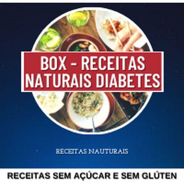 Imagem principal do produto BOX - Diabetes Receitas Naturais!
