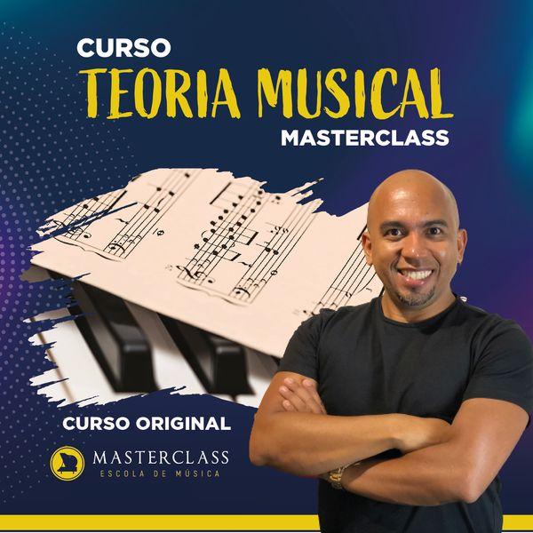 Imagem principal do produto CURSO TEORIA MUSICAL MASTERCLASS