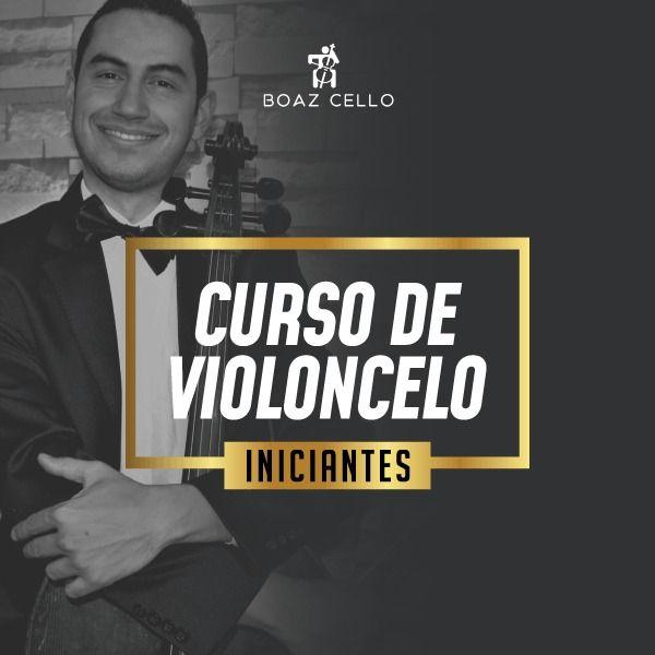 Imagem principal do produto CURSO VIOLONCELO - INICIANTES 2X, 3X e 4X