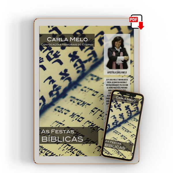 Imagem principal do produto Festas Bíblicas