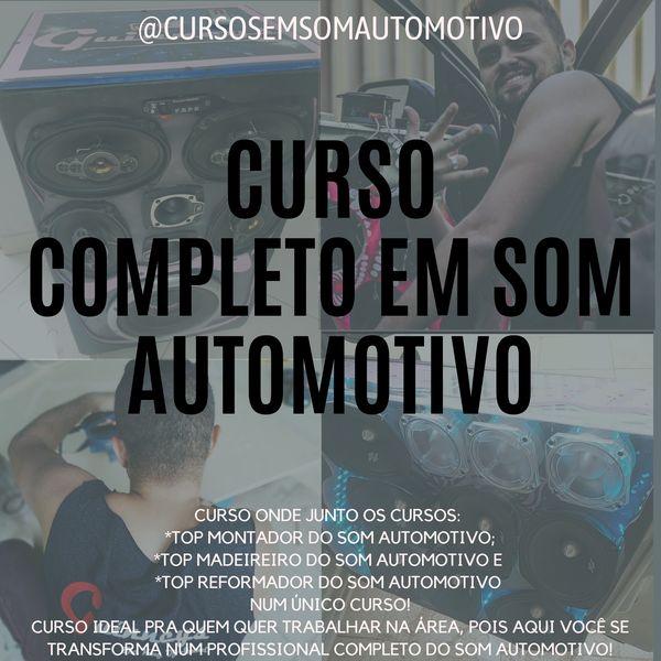 Imagem principal do produto CURSO COMPLETO EM SOM AUTOMOTIVO (DE R$: 1.597,00 POR APENAS R$: 449,00)