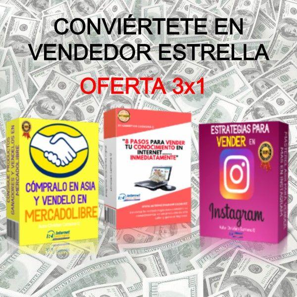 Imagem principal do produto CONVIÉRTETE EN VENDEDOR ESTRELLA, OFERTA 3X1