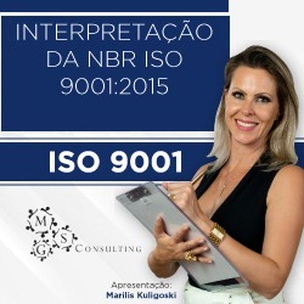 Imagem principal do produto Interpretação da NBR ISO 9001:2015