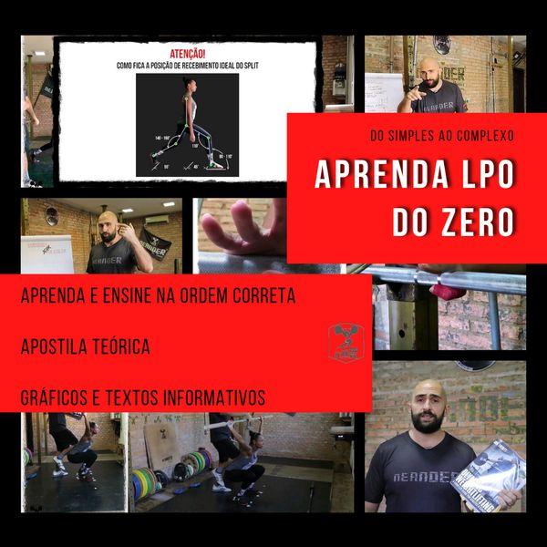 Imagem principal do produto APRENDA LPO DO ZERO