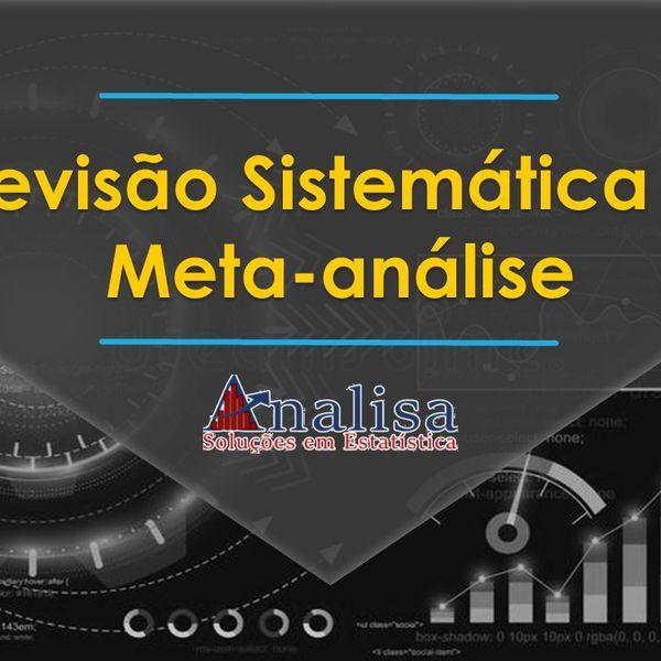 Imagem principal do produto Curso de Revisão Sistemática e Meta-análise