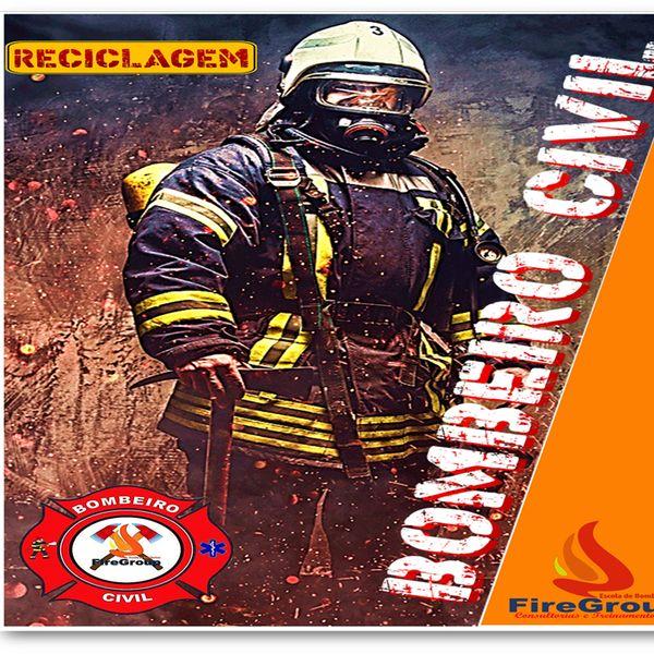 Imagem principal do produto BOMBEIRO CIVIL APOSTILA DE RECICLAGEM