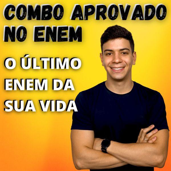Imagem principal do produto COMBO DA APROVAÇÃO NO ENEM