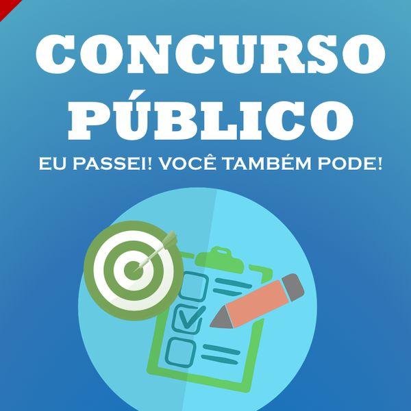 Imagem principal do produto CONCURSO PÚBLICO: EU PASSEI! VOCÊ TAMBÉM PODE!