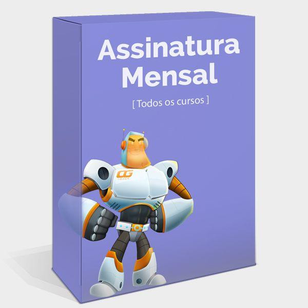Imagem principal do produto Assinatura Mensal CG Track
