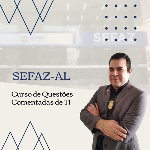 Imagem principal do produto Curso de Questões de Tecnologia da Informação para a SEFAZ-AL