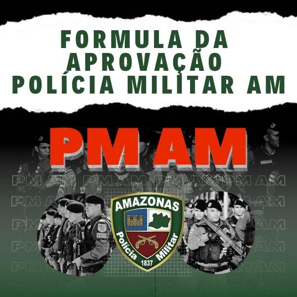 Imagem principal do produto Fórmula Da Aprovação Polícia Militar Do Amazonas