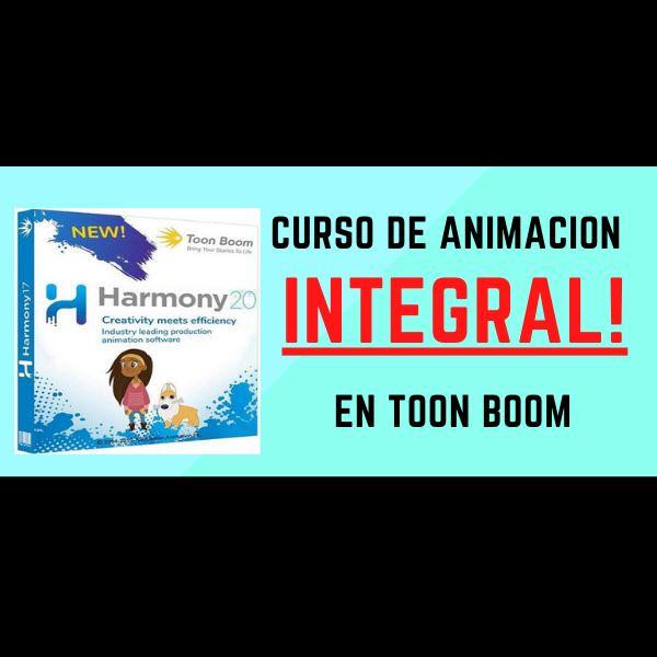 Imagem principal do produto Animación 2D en Toon Boom Harmony (curso integral)